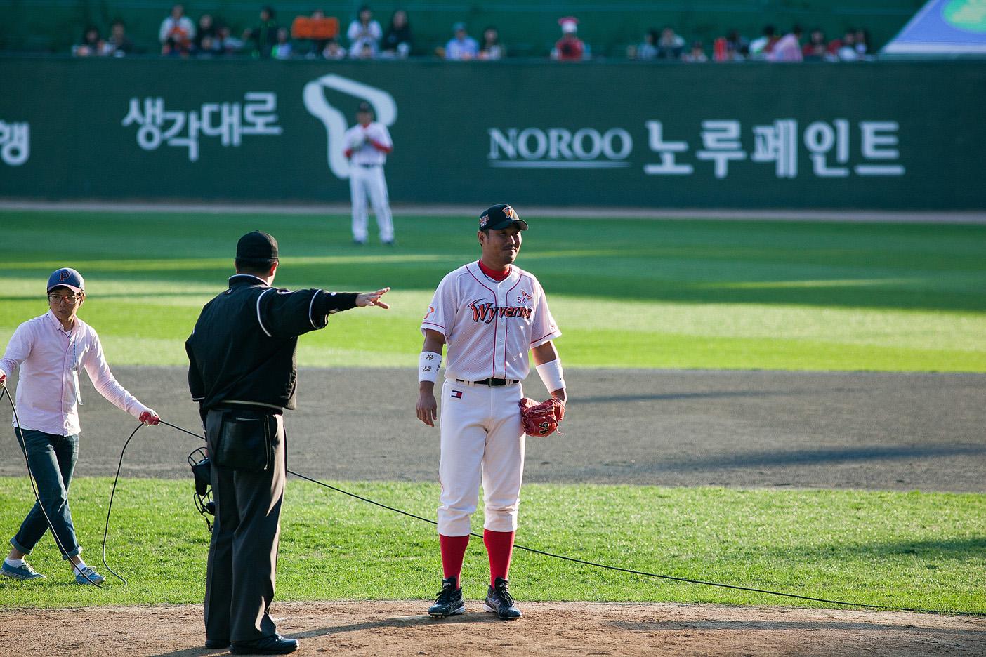 이호준은 1994년에 김재현에게 20호 홈런을 맞은 인연이..